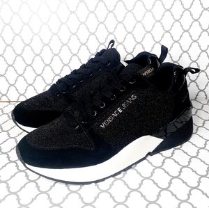 Versace Jeans Fashion Suede Sneakers 9